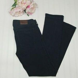 Madewell Rail straight black jeans size 27